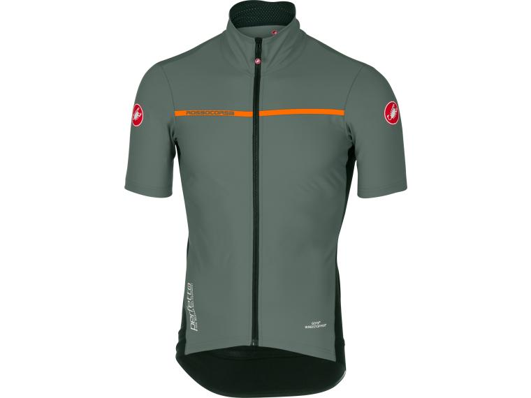 Castelli Perfetto Light 2 Jersey Forest Gray