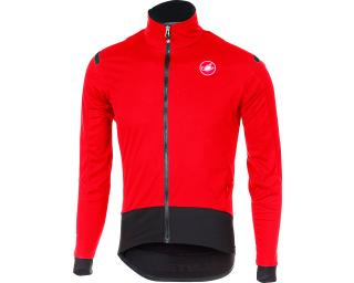 Castelli Alpha Ros Light Jacket Red