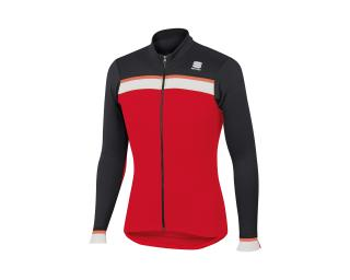 Sportful Pista Thermal Jersey Red