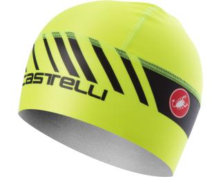 Castelli Arrivo 3 Thermo Skully Yellow