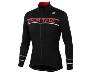 Sportful Giro Thermal Fietsshirt Zwart