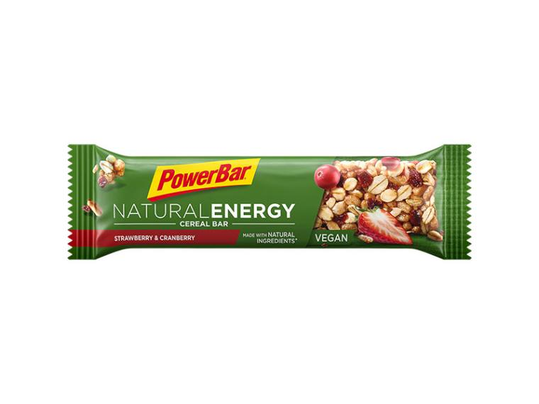 PowerBar Natural Energy Cereal Bar Aardbei