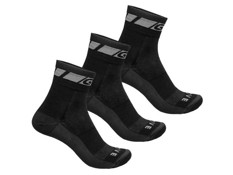 Merino Regular Cut 3-Pack Cykelstrømper | Socks